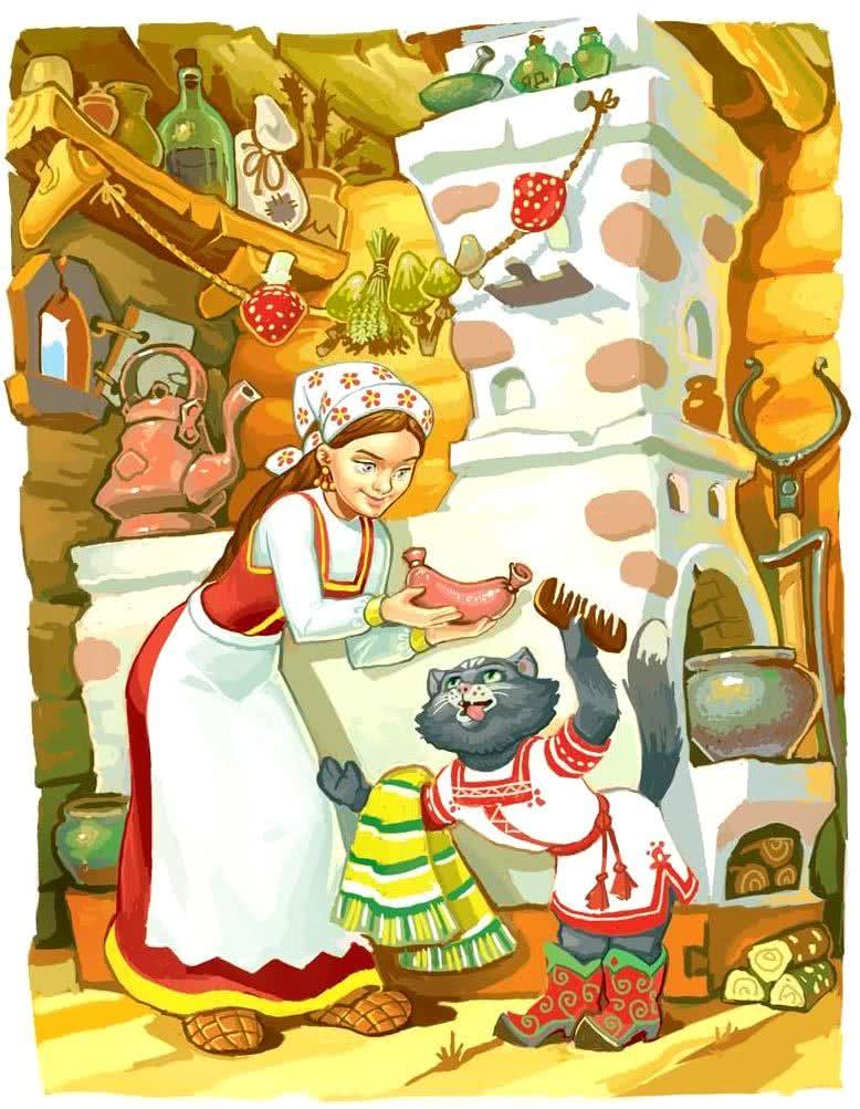 Баба-яга - русская народная сказка. Читать онлайн.