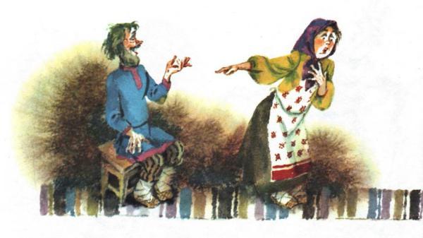Болтунья - русская народная сказка.Читать онлайн.