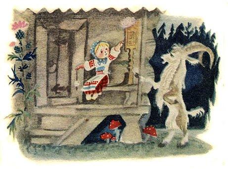 Бычок – чёрный бочок, белые копытца - русская народная сказка