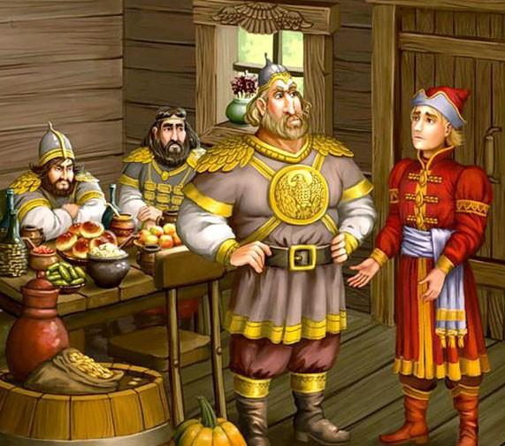 Чудесная рубашка - русская народная сказка. Читать онлайн.