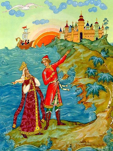Чудесные сыновья - русская народная сказка. Читать онлайн.