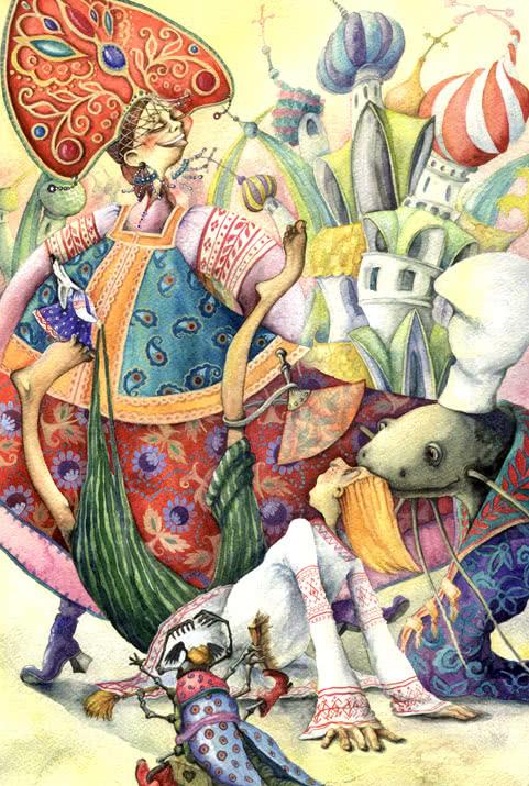 Царевна Несмеяна - русская народная сказка. Читать онлайн.