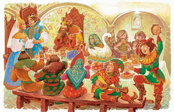 Царевна-лягушка - русская народная сказка