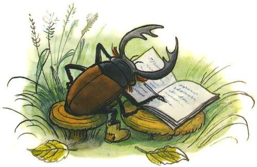 Дневник кузнечика Кузи - сказка Пляцковского. Читать онлайн.