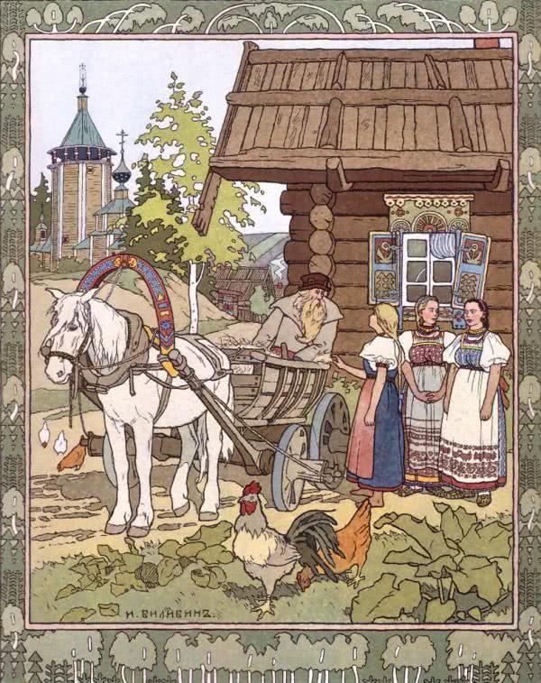 Финист-ясный сокол - русская народная сказка. Читать онлайн.