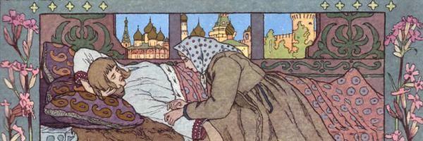 Финист-ясный сокол — русская народная сказка. Читать онлайн.
