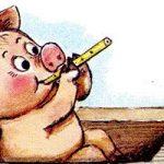 История про поросёнка - Цыферов Г.М. Читать онлайн с картинками.