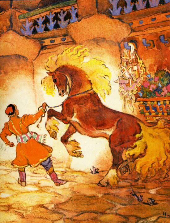 Иван-царевич и серый волк - русская народная сказка