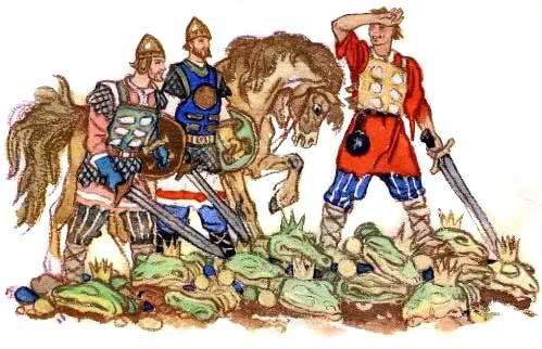 Иван-крестьянский сын и чудо-юдо - русская народная сказка