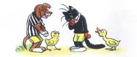 Как Чернобурчик в футбол играл - Пляцковский. Сказка про футбол.