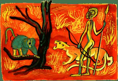 Как леопард стал пятнистым - Редьярд Киплинг
