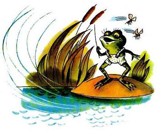 Как лягушонок искал папу - Цыферов Г.М. Читать онлайн.