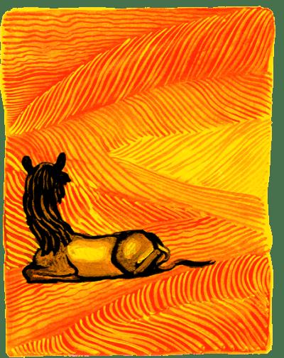 Как на спине верблюда появился горб - Редьярд Киплинг