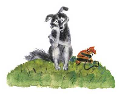Как собака друга искала - русская народная сказка