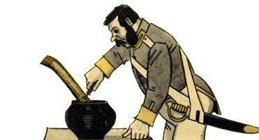 Каша из топора — русская народная сказка. Читать онлайн.