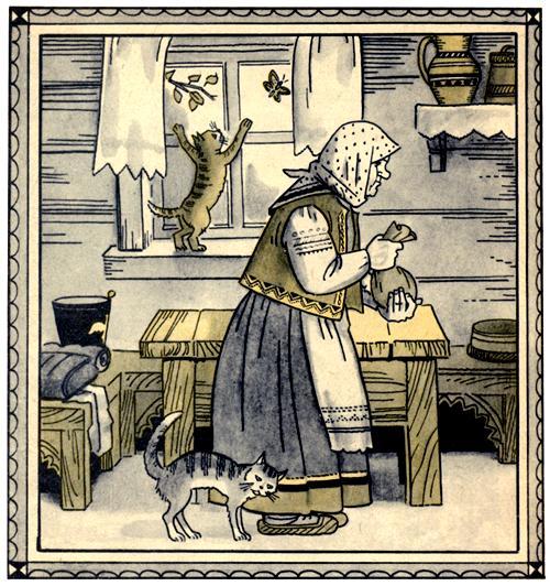 Каша из топора - русская народная сказка. Читать онлайн.