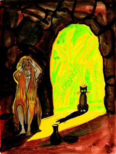 Кот, который гулял, где хотел - Редьярд Киплинг. Читайте онлайн.