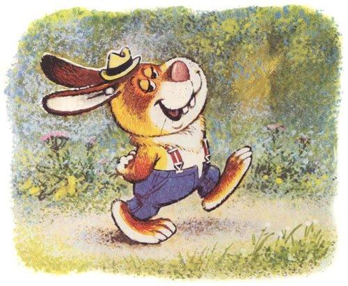 Кролик, который никого не боялся - Пляцковский М.С. Читать онлайн.