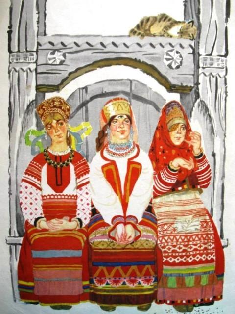 Крошечка-Хаврошечка - русская народная сказка