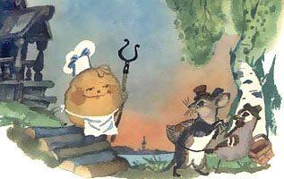 Крылатый, мохнатый да масленый — русская народная сказка