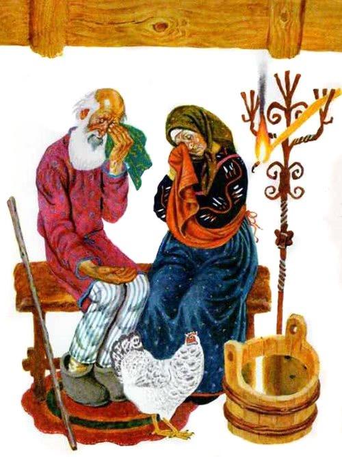 Курочка Ряба - русская народная сказка. Читать онлайн.