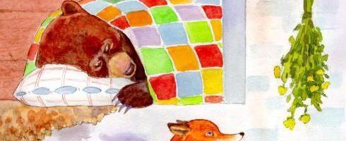 Лиса и медведь — русская народная сказка. Читать онлайн.