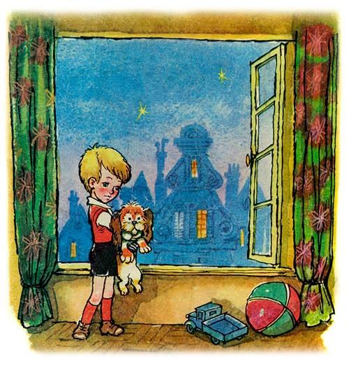 Малыш и Карлсон - Астрид Линдгрен. Читайте онлайн с картинками.