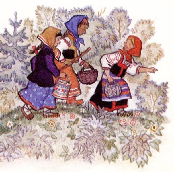 Маша и медведь - русская народная сказка. Читать онлайн.