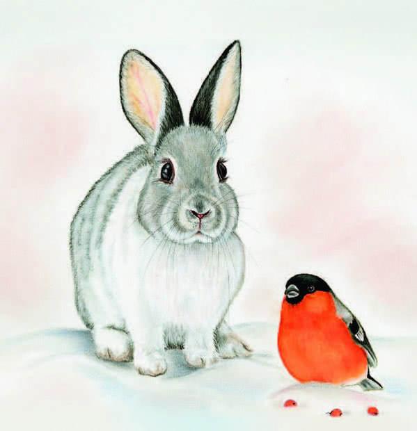 Мороз и заяц - русская народная сказка. Читать онлайн.