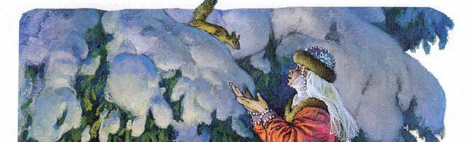 Морозко — русская народная сказка. Читать онлайн.