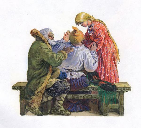 Морозко - русская народная сказка. Читать онлайн.
