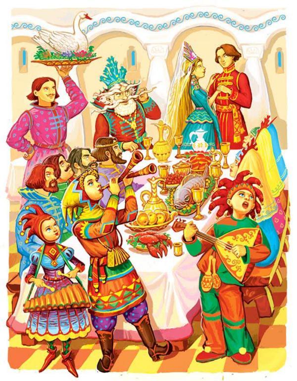 Морской царь и Василиса Премудрая - русская народная сказка