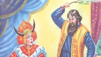 Наказанная царевна — русская народная сказка. Читать онлайн.
