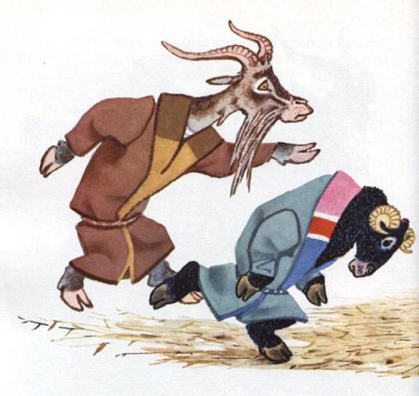 Напуганные волки - русская народная сказка. Читать онлайн.