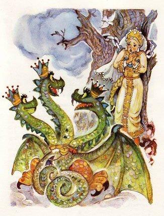 Никита Кожемяка - русская народная сказка. Читать онлайн.