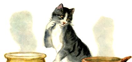 О Молочке, овсяной Кашке и сером котишке Мурке — Мамин-Сибиряк Д.Н.