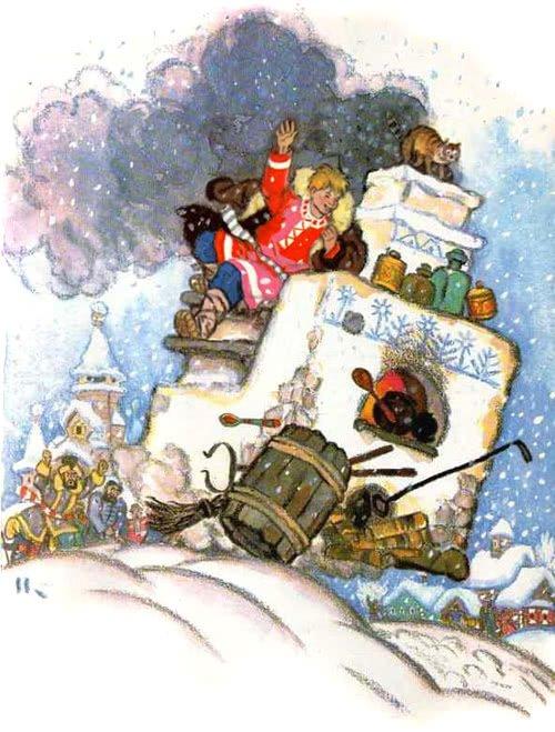 По щучьему веленью - русская народная сказка