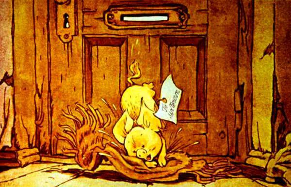 Почтальон и поросенок - Дональд Биссет. Читайте онлайн с картинками.