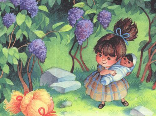 Принцесса, не желавшая играть в куклы - А.Линдгрен. Читайте онлайн.