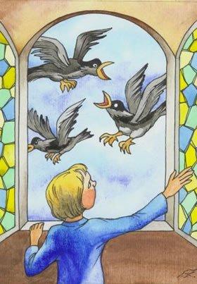 Птичий язык - русская народная сказка. Читать онлайн.