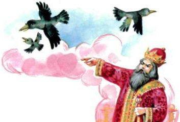 Птичий язык — русская народная сказка. Читать онлайн.
