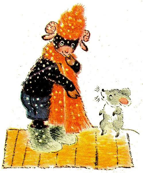 Пушистый барашек - Цыферов Г.М. Читать онлайн с картинками.