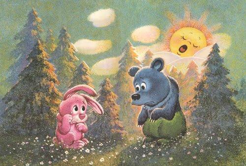 Разноцветные зверята - сказка Пляцковского. Читать онлайн.