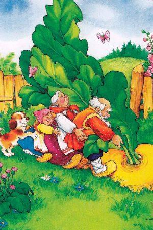 Репка - русская народная сказка. Читать онлайн.