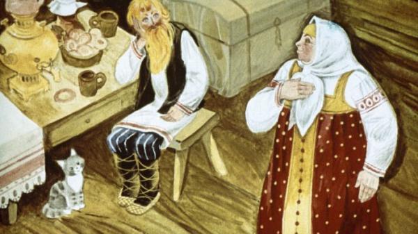 Самое дорогое - русская народная сказка. Читать онлайн.