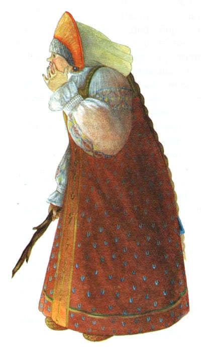 Серебряное блюдечко и наливное яблочко - русская народная сказка