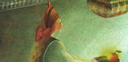 Серебряное блюдечко и наливное яблочко — русская народная сказка 5 (1)