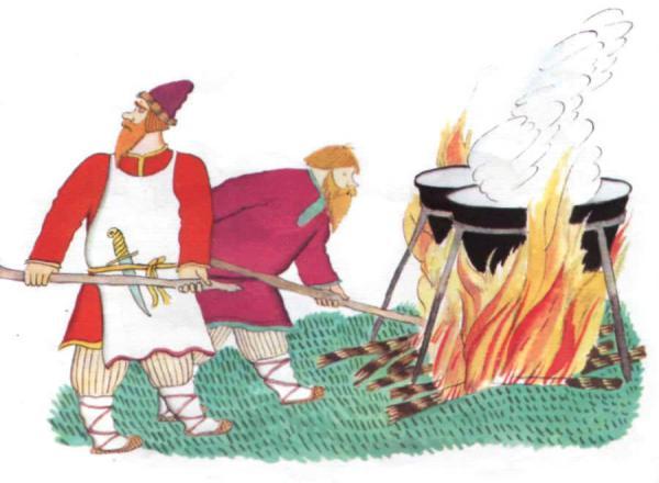 Сестрица Алёнушка и братец Иванушка - русская народная сказка