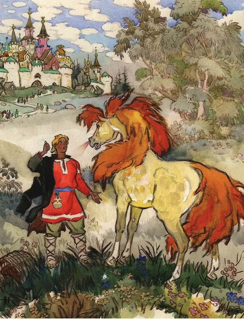 Сивка Бурка - русская народная сказка
