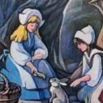 Сказка Белоснежка и Краснозорька - Братья Гримм. Читать онлайн.